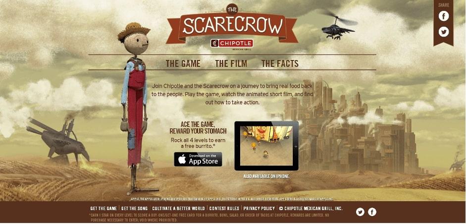 Scarecrow Juego